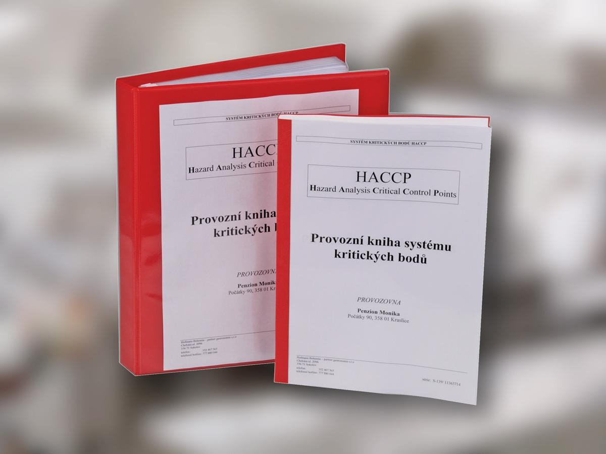 kniha pro zavedení HACCP