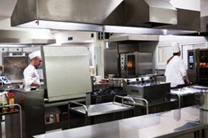 Stroje a zařízení kuchyní a jídelen